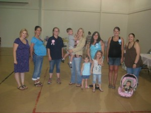 August 2010 MCMWTC Baby Shower Coleville CA